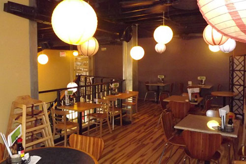 Lawrence Contractor Restaurant Tenant Finish Natural